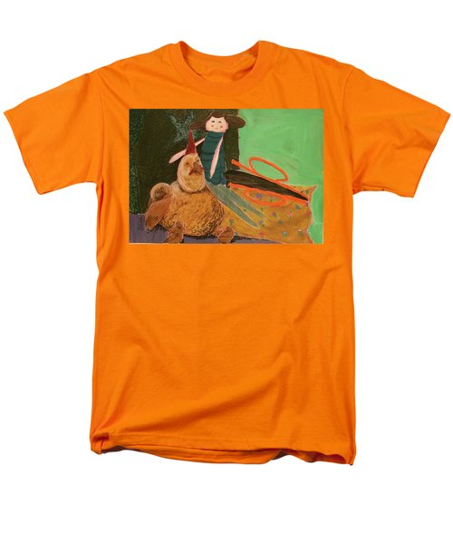 Men's T-Shirt  (Regular Fit) featuring the pastel Still Life With Old Toys by Manuela Constantin
