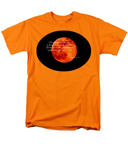 Strawberry Moon Men's T-Shirt  (Regular Fit) by Anita Faye