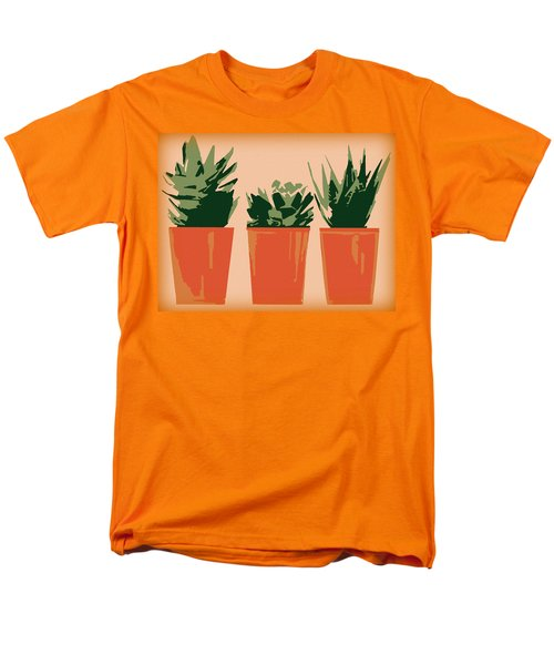 Succulents Men's T-Shirt  (Regular Fit)