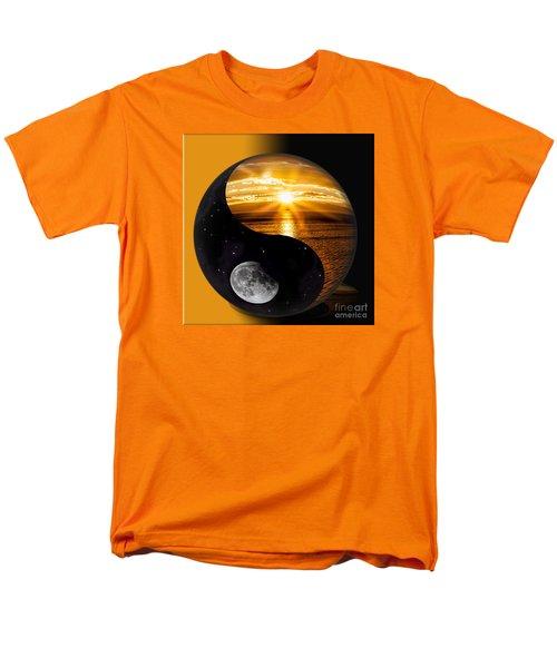 Sun And Moon - Yin And Yang Men's T-Shirt  (Regular Fit)
