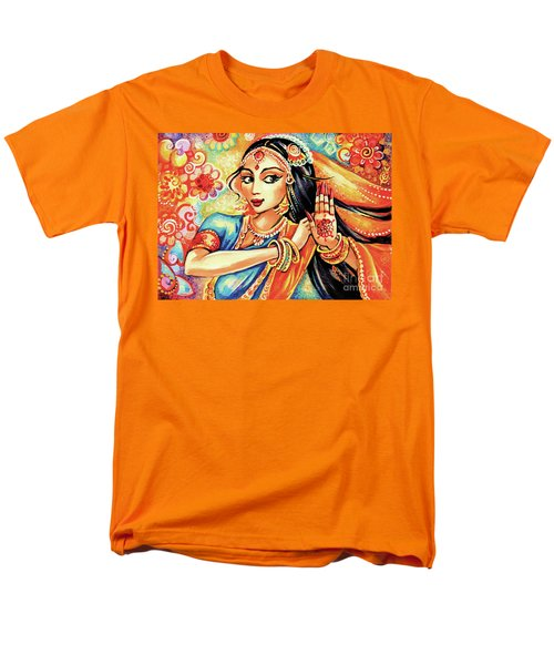 Men's T-Shirt  (Regular Fit) featuring the painting Sun Ray Dance by Eva Campbell