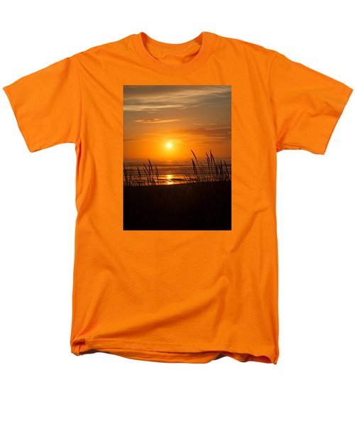 Men's T-Shirt  (Regular Fit) featuring the photograph Sun Setting 2 by Adria Trail