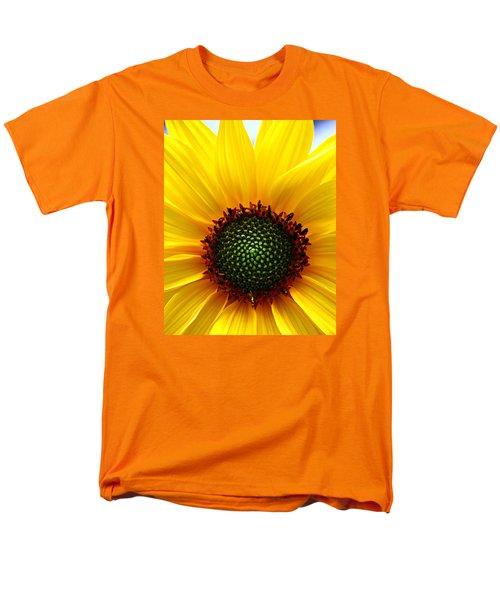 Sunflower Macro Men's T-Shirt  (Regular Fit)