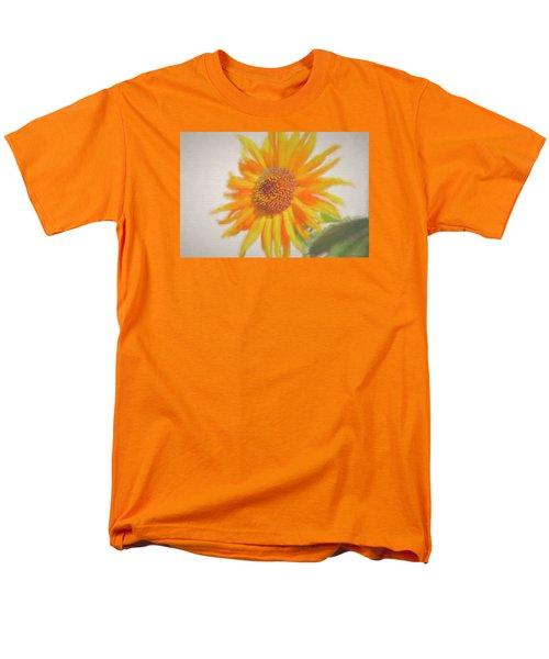 Men's T-Shirt  (Regular Fit) featuring the painting Sunflower Painting by Debra     Vatalaro