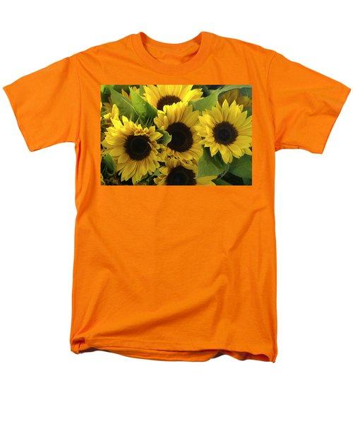 Sunflowers Men's T-Shirt  (Regular Fit) by Henri Irizarri