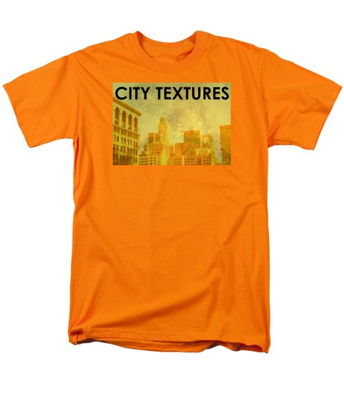 Sunny City Textures Men's T-Shirt  (Regular Fit) by John Fish