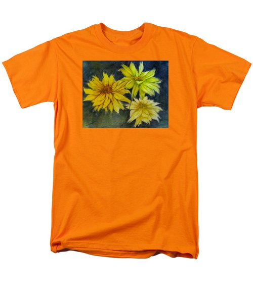 Sunny Yellow Men's T-Shirt  (Regular Fit) by Barbara O'Toole