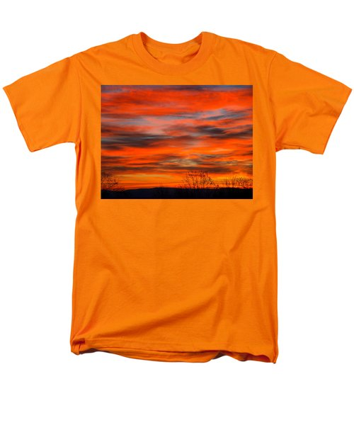 Sunrise In Ithaca Men's T-Shirt  (Regular Fit) by Paul Ge