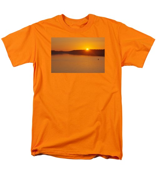 Men's T-Shirt  (Regular Fit) featuring the photograph Sunrise On The Ferry by Greg Graham
