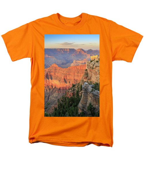 Sunset At Mather Point Men's T-Shirt  (Regular Fit) by David Chandler