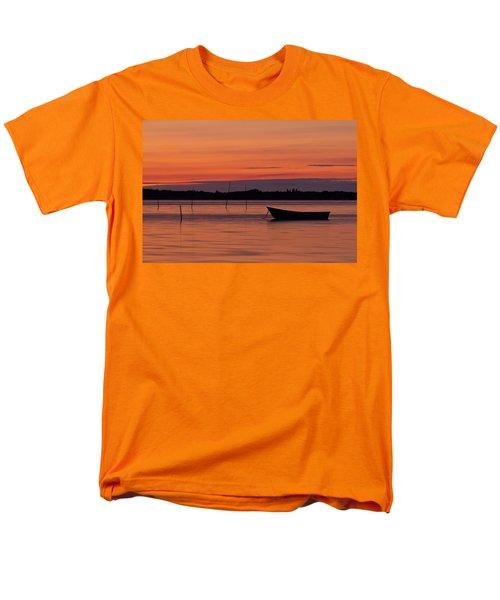 Sunset Boat Men's T-Shirt  (Regular Fit) by Gert Lavsen