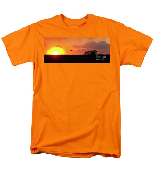 Sunset Over Easy Men's T-Shirt  (Regular Fit) by Sue Stefanowicz