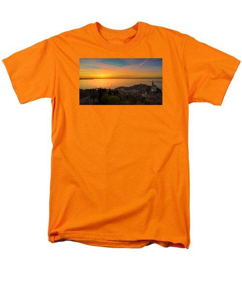 Sunset Men's T-Shirt  (Regular Fit) by Robert Krajnc