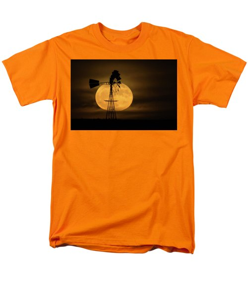 Supermoon Rise 4  11-14-2016 Men's T-Shirt  (Regular Fit)
