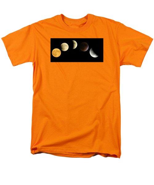 Men's T-Shirt  (Regular Fit) featuring the photograph Supermoon Total Lunar Eclipse by Nikki McInnes