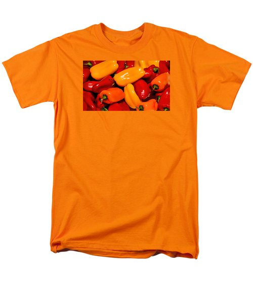 Sweet Peppers Men's T-Shirt  (Regular Fit) by Pat Cook