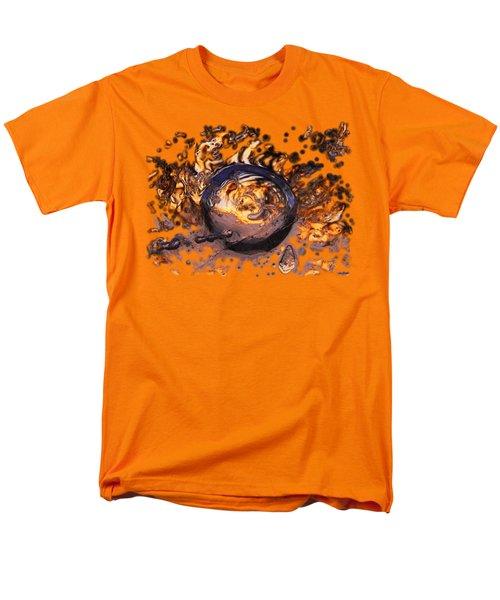 Swirly Gateway Men's T-Shirt  (Regular Fit) by Sami Tiainen