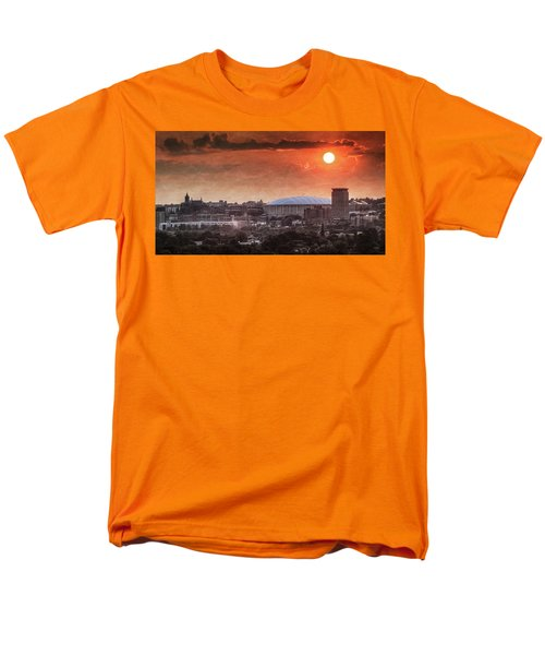 Syracuse Sunrise Over The Dome Men's T-Shirt  (Regular Fit) by Everet Regal