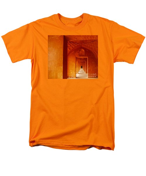 Taj Mahal Men's T-Shirt  (Regular Fit) by M G Whittingham