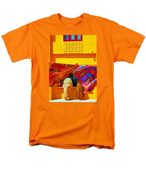Men's T-Shirt  (Regular Fit) featuring the photograph Tamil Nadu Shop by Dennis Cox WorldViews