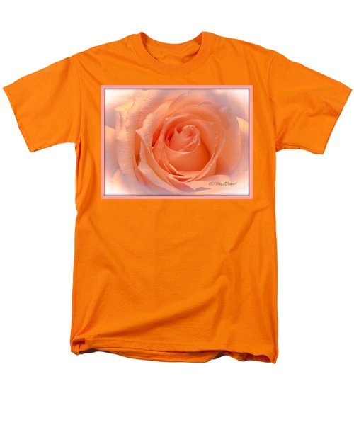 The  Beauty Of A Rose  Copyright Mary Lee Parker 17,  Men's T-Shirt  (Regular Fit) by MaryLee Parker