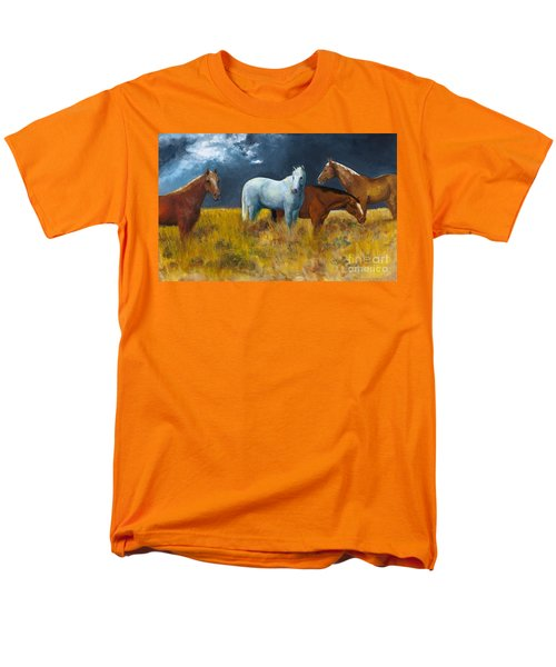 The Calm After The Storm Men's T-Shirt  (Regular Fit) by Frances Marino