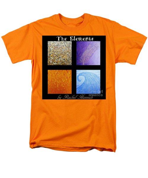 The Elements Men's T-Shirt  (Regular Fit) by Rachel Hannah