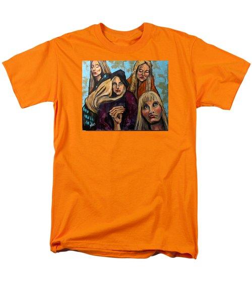 The Folk Singer Men's T-Shirt  (Regular Fit) by Barbara O'Toole