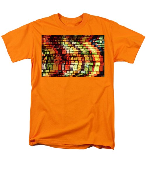 The Human Heart Likes A Little Disorder In Its Geometry Men's T-Shirt  (Regular Fit) by Danica Radman