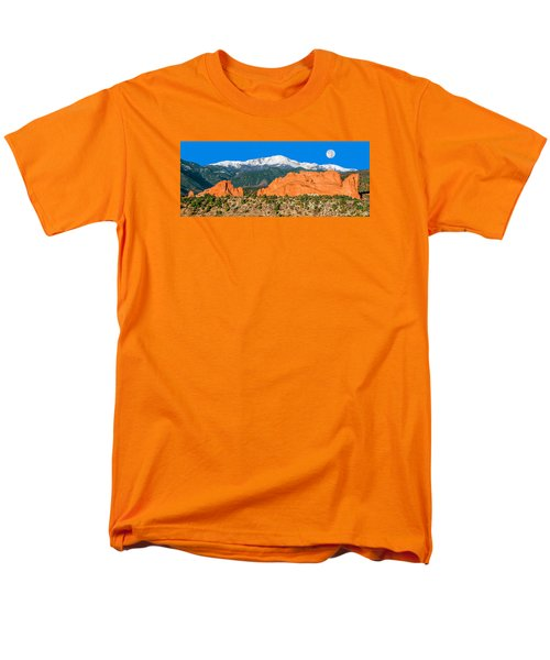 The Most Popular City Park In The U.s. Men's T-Shirt  (Regular Fit) by Bijan Pirnia