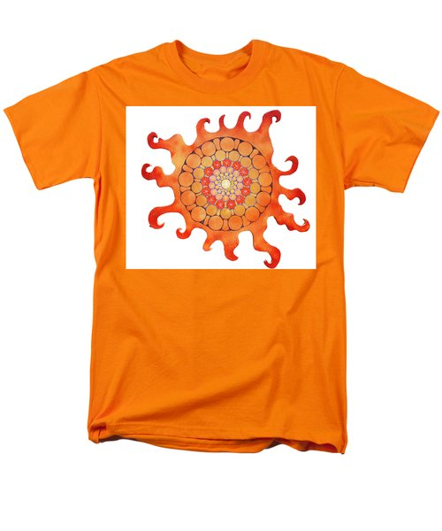 Men's T-Shirt  (Regular Fit) featuring the painting The New Sun by Patricia Arroyo