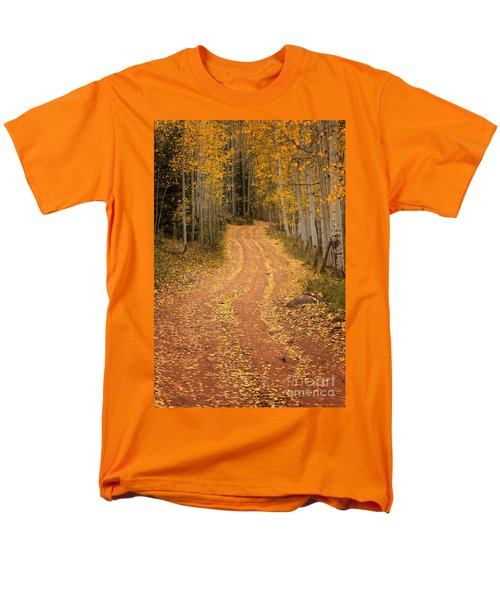 The Pathway To Fall Men's T-Shirt  (Regular Fit) by Ronda Kimbrow