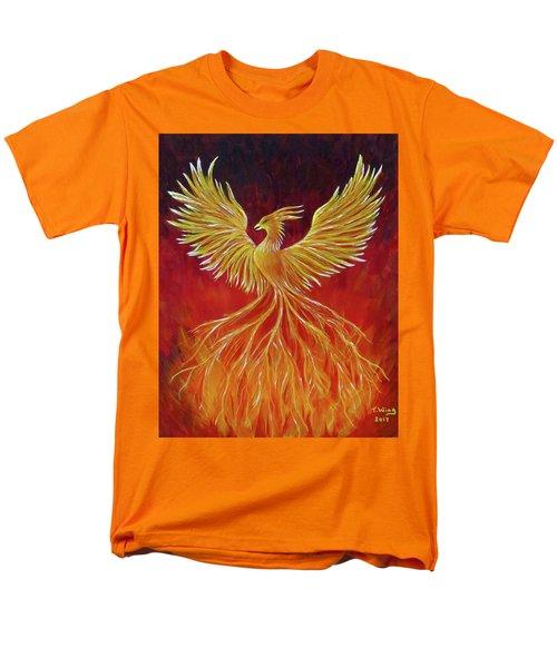 The Phoenix Men's T-Shirt  (Regular Fit) by Teresa Wing