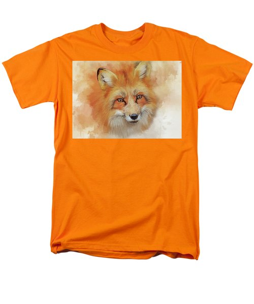 The Red Fox Men's T-Shirt  (Regular Fit) by Brian Tarr