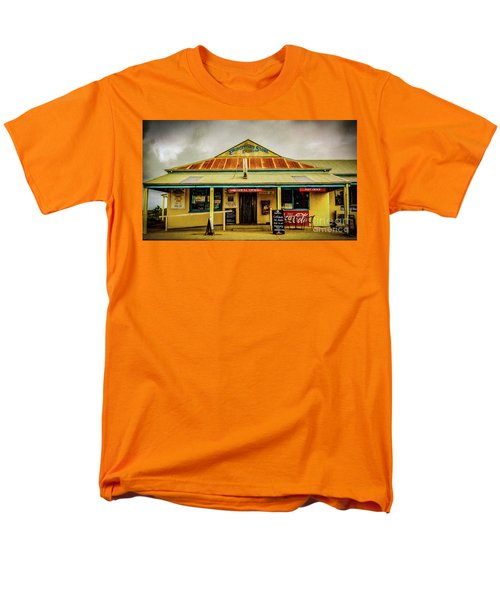 Men's T-Shirt  (Regular Fit) featuring the photograph The Store by Perry Webster