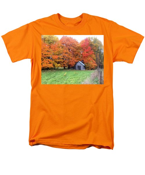 Men's T-Shirt  (Regular Fit) featuring the photograph The Sugar Shack by Pat Purdy