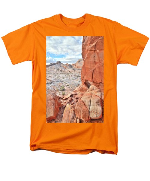 The Wall At Valley Of Fire Men's T-Shirt  (Regular Fit) by Ray Mathis