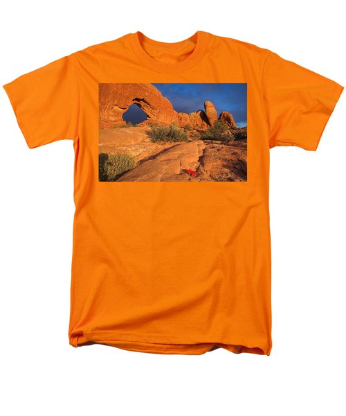 Men's T-Shirt  (Regular Fit) featuring the photograph The Window by Steve Stuller