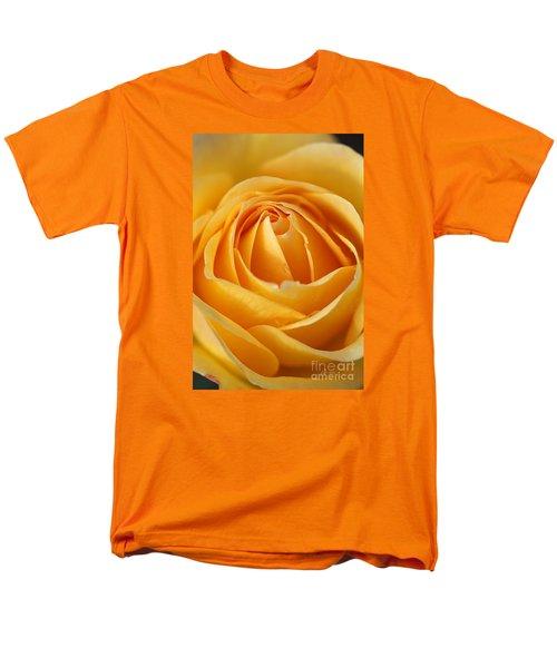 The Yellow Rose Men's T-Shirt  (Regular Fit) by Joy Watson
