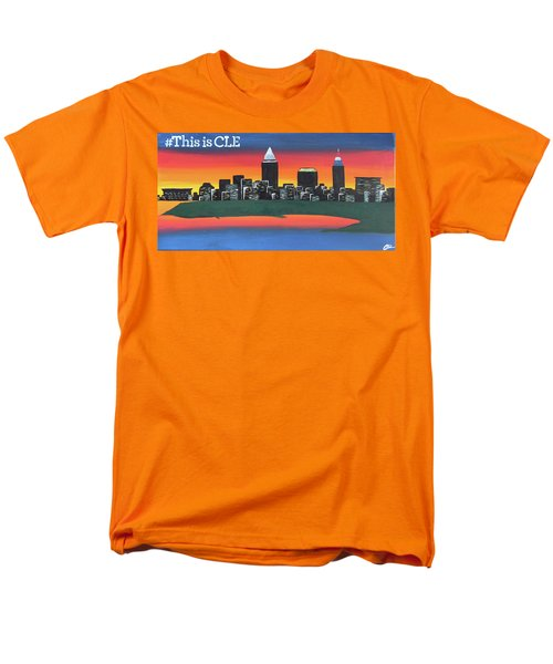 This Is Cle Men's T-Shirt  (Regular Fit) by Cyrionna The Cyerial Artist