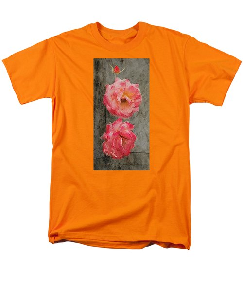 Three Roses Men's T-Shirt  (Regular Fit) by Dale Stillman