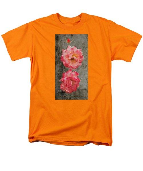Three Roses Men's T-Shirt  (Regular Fit)