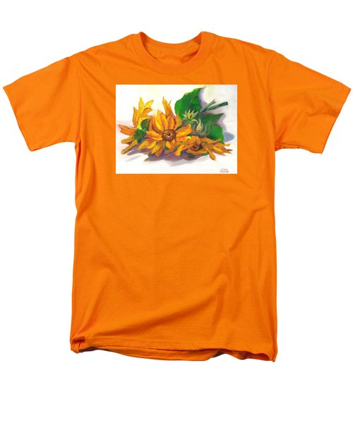 Three Sunflowers Men's T-Shirt  (Regular Fit) by Susan Thomas