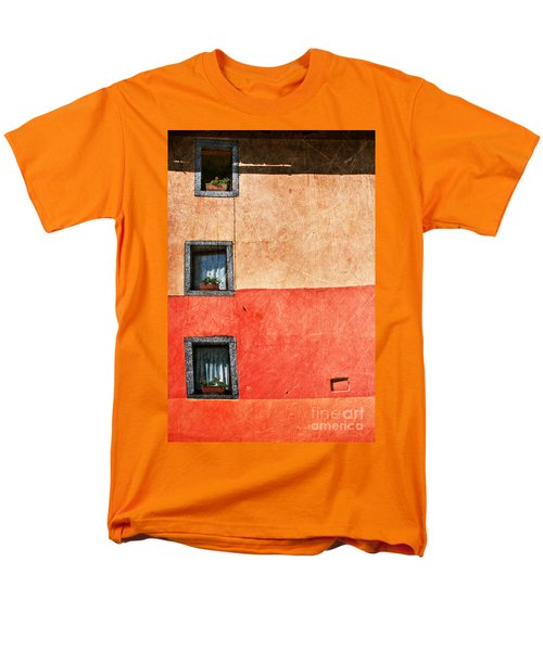 Three Vertical Windows Men's T-Shirt  (Regular Fit) by Silvia Ganora