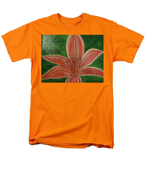 Tiger Lilly Men's T-Shirt  (Regular Fit) by Barbara Yearty