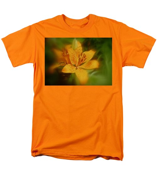 Men's T-Shirt  (Regular Fit) featuring the photograph Tiger Lily No. 1 by Richard Cummings