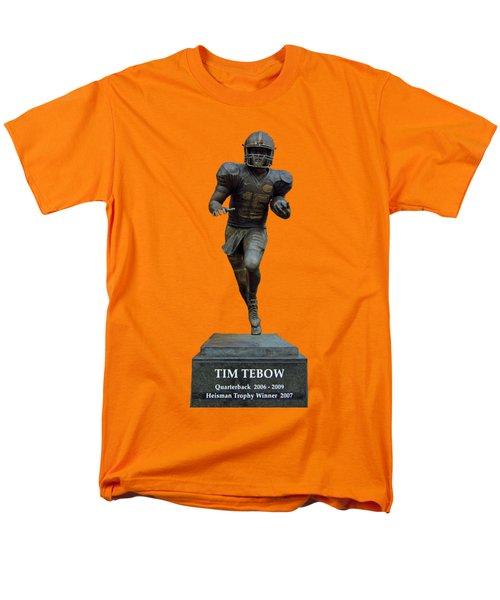 Tim Tebow Transparent For Customization Men's T-Shirt  (Regular Fit) by D Hackett