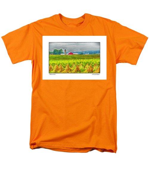 Tobacco Farm Men's T-Shirt  (Regular Fit) by R Thomas Berner