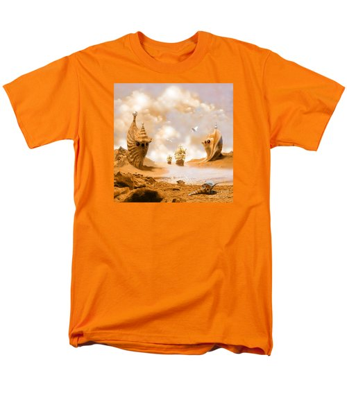 Men's T-Shirt  (Regular Fit) featuring the digital art Treasure Island by Alexa Szlavics