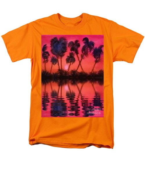 Tropical Heat Wave Men's T-Shirt  (Regular Fit) by Holly Martinson